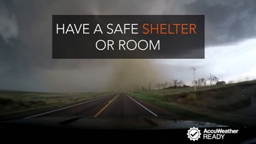 What to have during a tornado