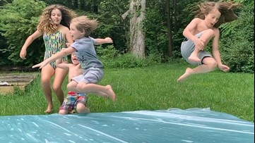 Build a water park in your own backyard