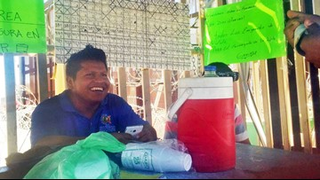 Some asylum seekers forced to wait in Mexico help each other