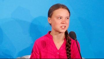 Trump: Greta Thunberg seems 'very happy,' retweets her emotional climate plea