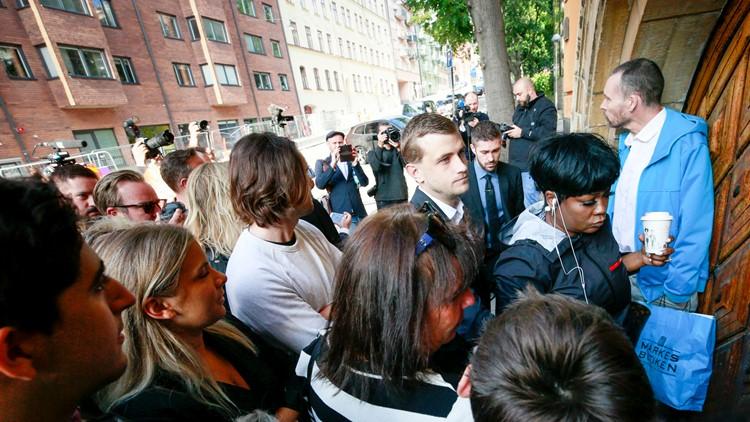 Sweden Rapper trial beginning Renee Black