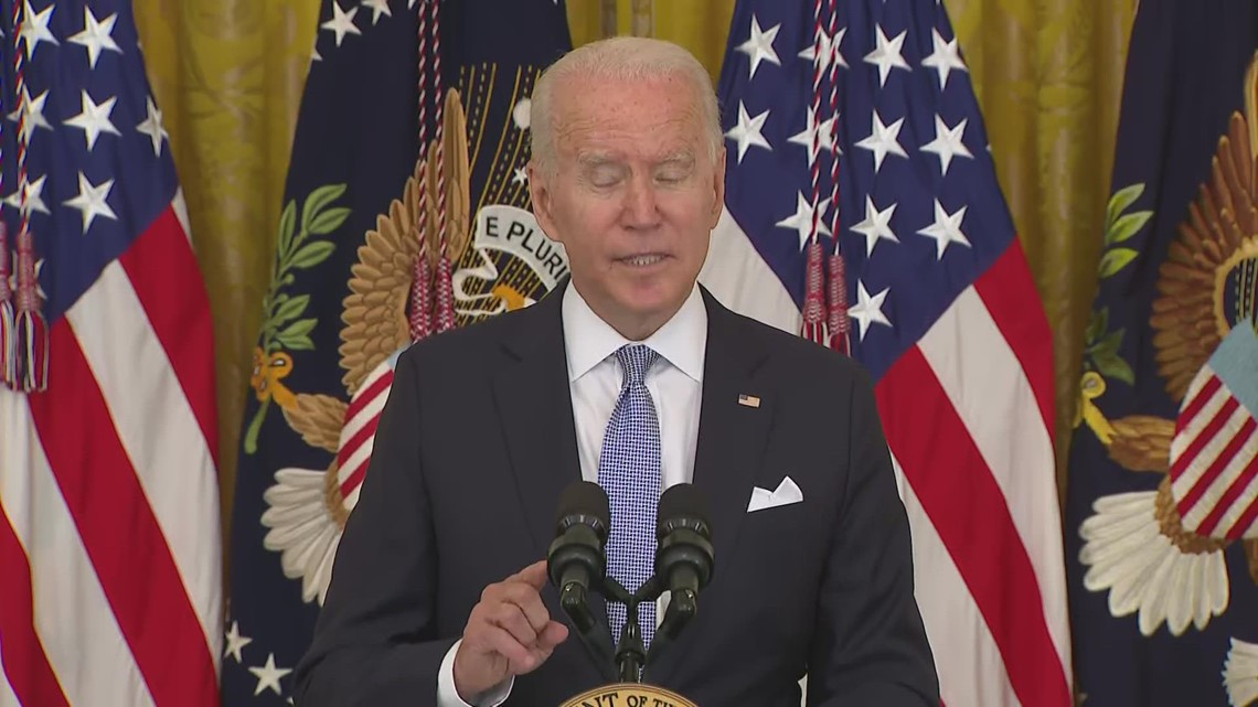 Biden urges  business to expand paid leave for COVID vaccination