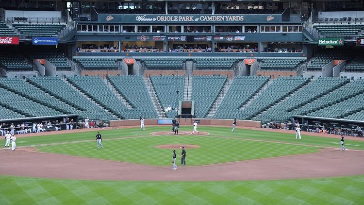 Virus Outbreak Empty Stadiums