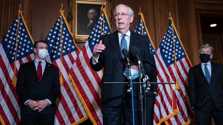 Mitch McConnell congratulates Joe Biden as president-elect