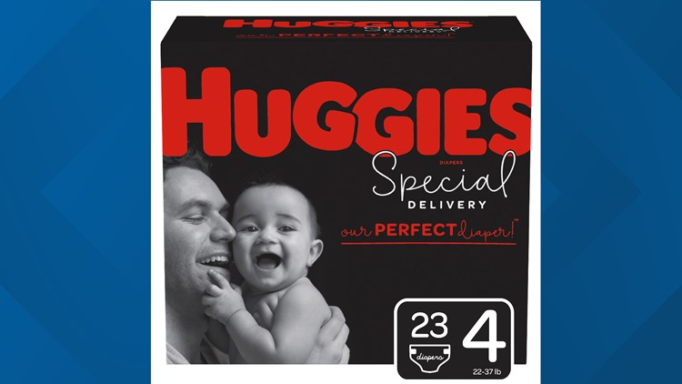 Huggies Special Delivery dads size 4