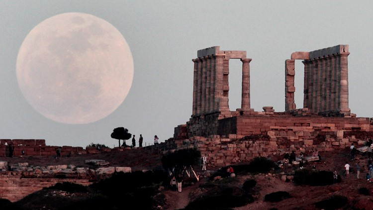 When to see this month's 'pink' supermoon