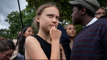 'Save your praise. We don't want it': Teen climate activist tells lawmakers to try harder