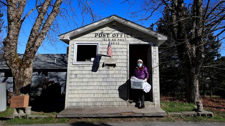 Virus Outbreak Postal Service