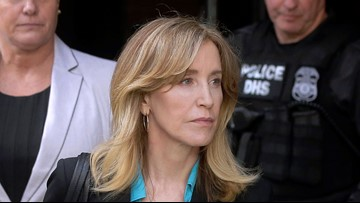 Actress Felicity Huffman to be released from prison on October 27