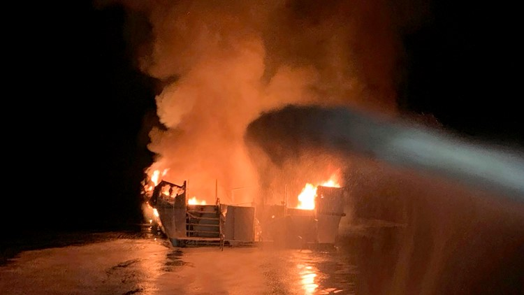Bill would change maritime liability rules after deadly boat fire off Southern California
