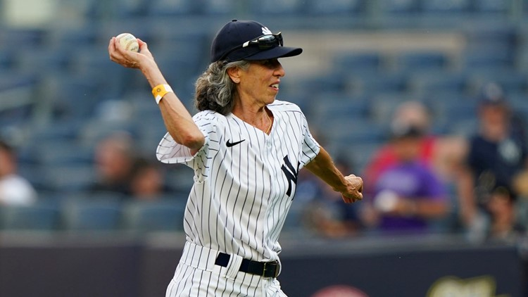 Woman rejected as Yankees bat girl decades ago gets the call at age 70
