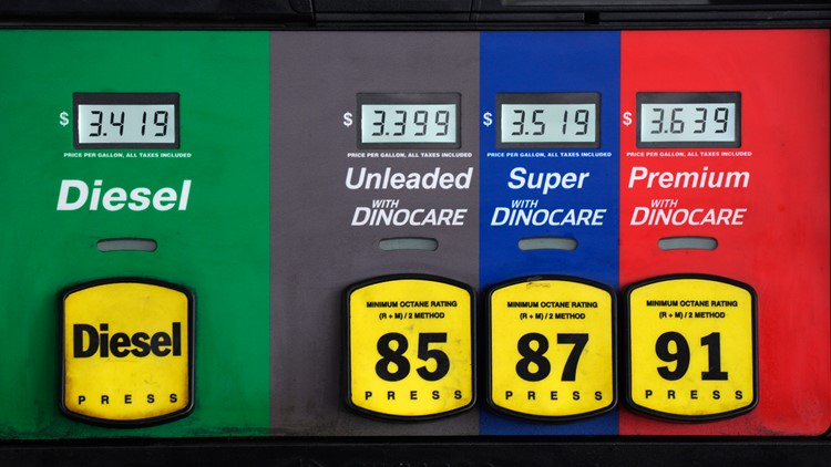 Gas prices rising again in Toledo with an average of $3.13 per gallon