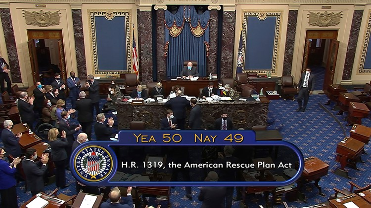 Third stimulus check: Senate votes to pass Biden's $1.9 trillion Covid-19 relief bill