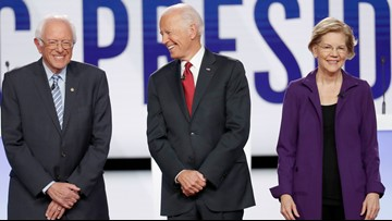 Democratic debate: Biden defends son on Ukraine questions