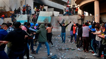 13 dead in 1 of the 'worst' days of protest in southern Iraq