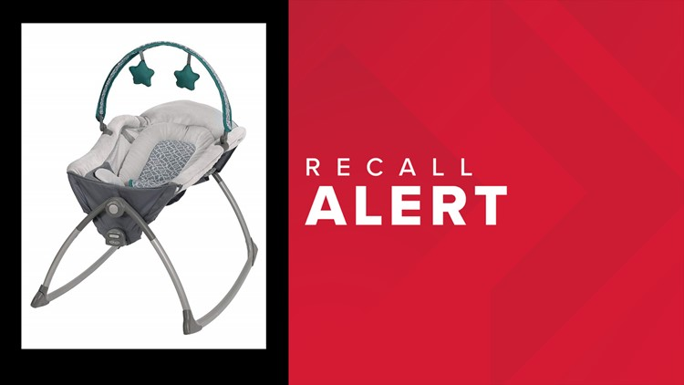 Graco Little Lounger Rocking Seat recalled