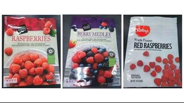 Frozen raspberries, berry mixes recalled for possible Hepatitis A contamination