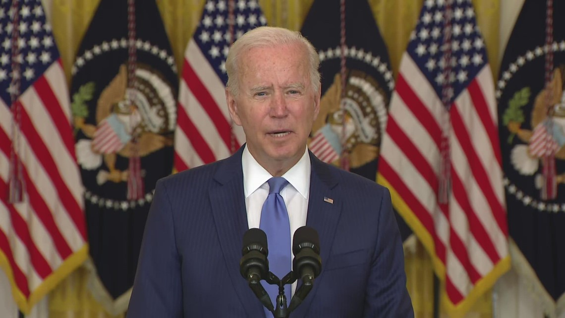 Biden wants big corporations to pay their 'fair share' of taxes