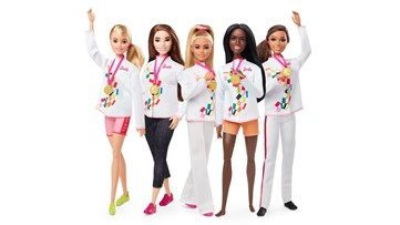 Olympics Barbie line celebrates new sports coming to Tokyo