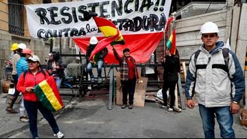 Venezuela's Maduro sides with Bolivia's resigning president, blames US
