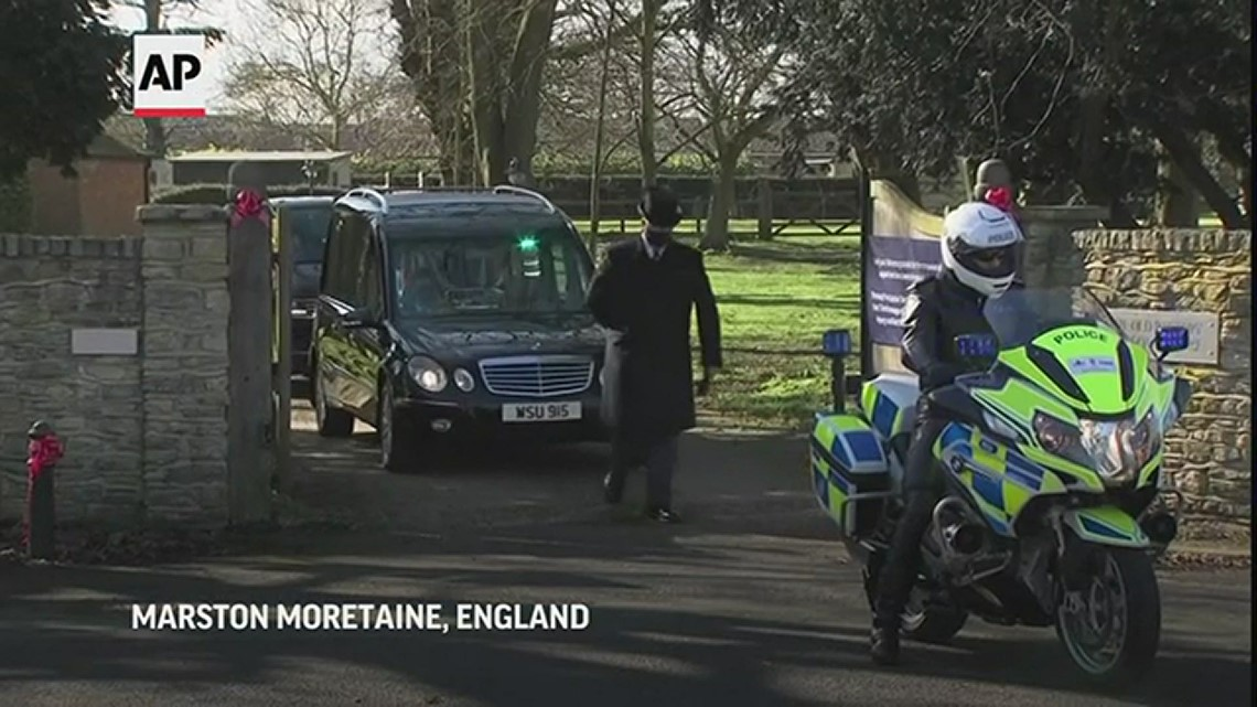 British COVID-19 fundraising hero Tom Moore honored at funeral