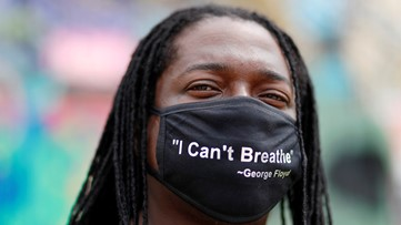 'I CAN'T BREATHE': 8 minute, 46 second video airs on ViacomCBS channels