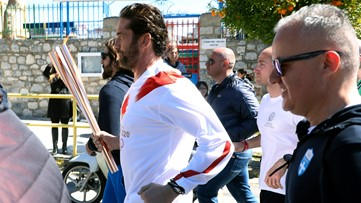 Olympic torch relay in Greece suspended due to coronavirus
