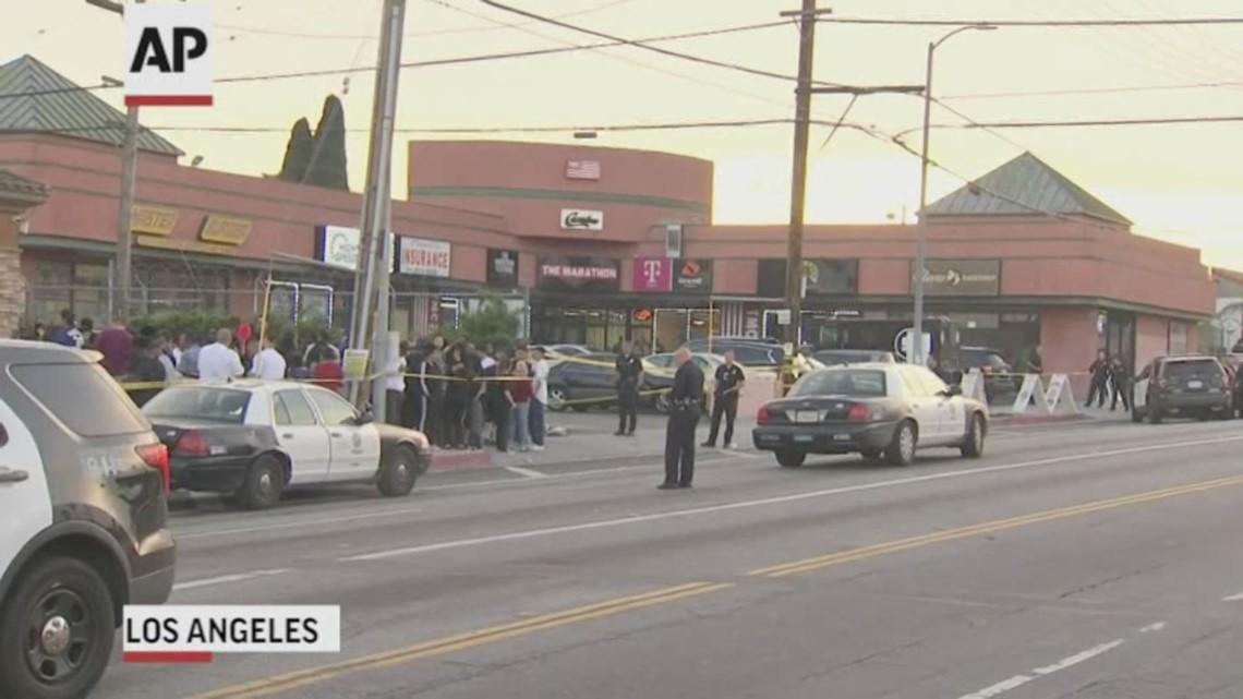 Rapper Nipsey Hussle shot dead