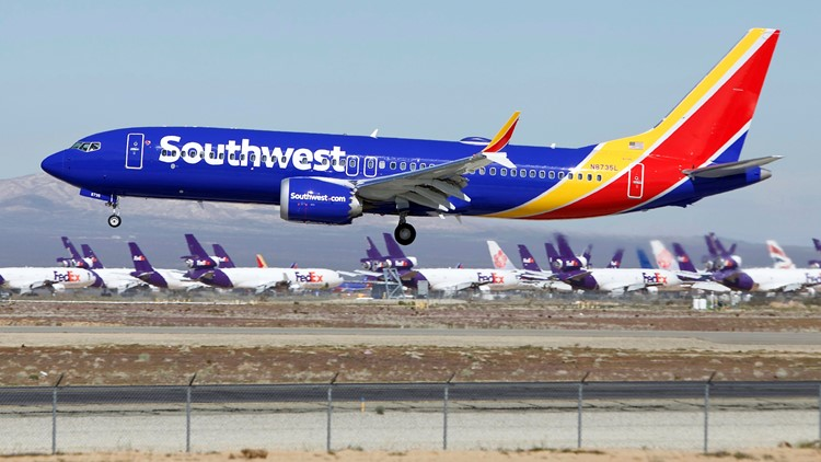 Southwest Airlines Boeing Plane