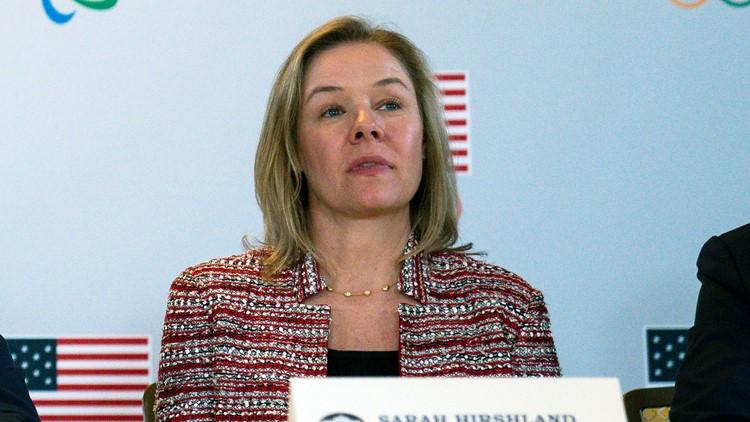 US Olympics CEO: China Olympics boycott won't solve geopolitical issues