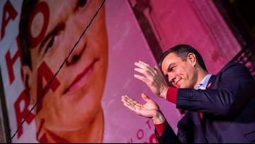 Far right surges amid Socialist win in Spain