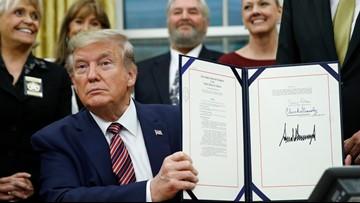 Trump signs bill into law making animal cruelty a federal felony