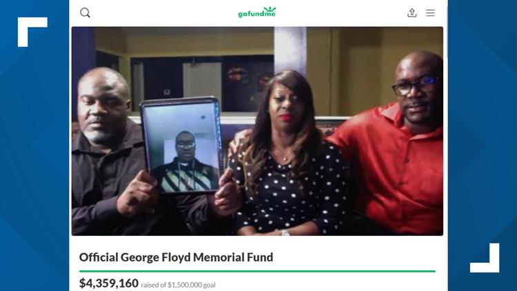 George Floyd's GoFundMe campaign raises more than $4 million