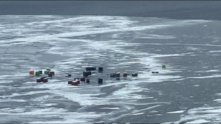 More than 60 ice anglers rescued in northeast Wisconsin