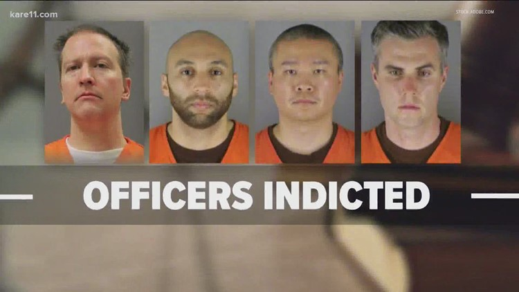Grand jury indicts 4 former officers involved in George Floyd death