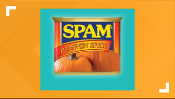 Fall is nearing, and so is pumpkin spice-flavored SPAM