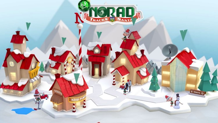 Keep tabs on Santa Claus with the NORAD tracker