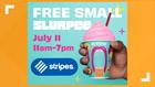 FREE Slurpee drinks on 7-Eleven Day