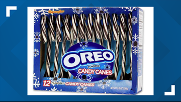 Oreo candy canes are a real thing