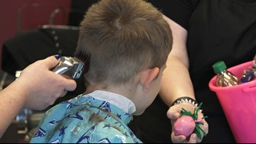 Texas salon helps kids with autism ease haircut worries