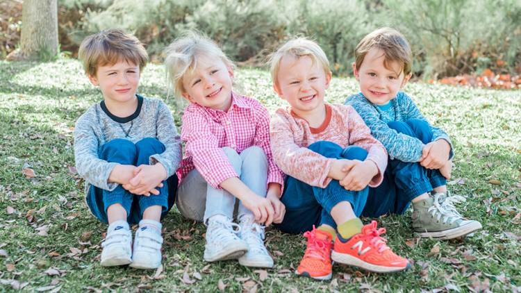 San Diego quadruplets celebrate 5th birthday