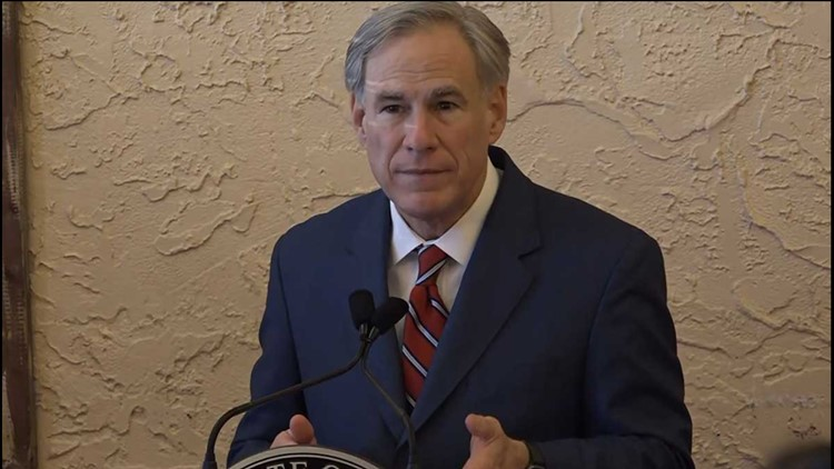 Gov. Abbott plans to end statewide mask mandate, allow businesses to open at 100% capacity on March 10