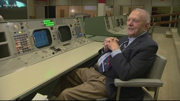 Flight commander Gene Kranz - a graduate of Central Catholic - directed the mission that put man on the moon
