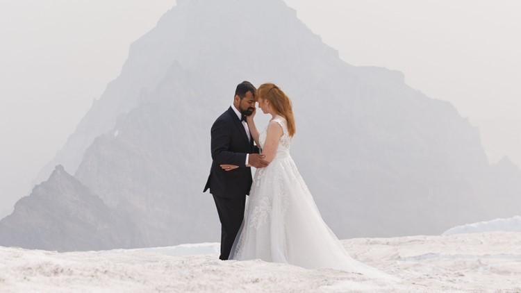 Extreme Wedding: Couple ties the knot atop Mount Rainier