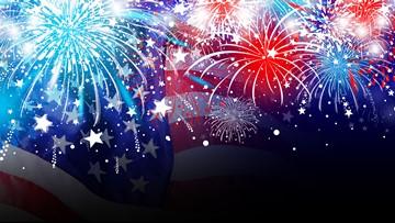 July 4 community fireworks