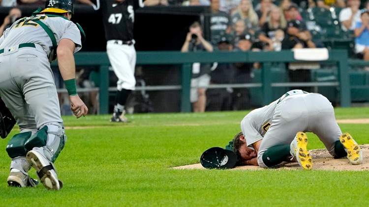 A's RHP Bassitt out of hospital after being hit by liner