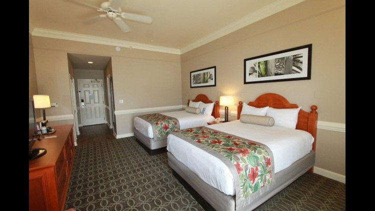 A standard room at the Shades of Green Resort. (Photo courtesy of Shades of Green Resort / Facebook)