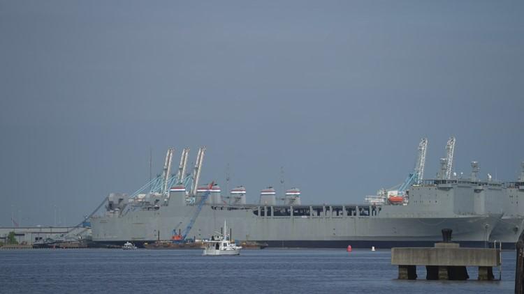 VERIFY Rising Sea Levels: Norfolk Naval Station