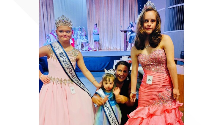 'They can do anything' | Beauty queens with Down syndrome breaking barriers on the national stage