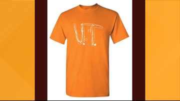 High demand for Florida boy's University of Tennessee t-shirt design crashes Vol Shop server